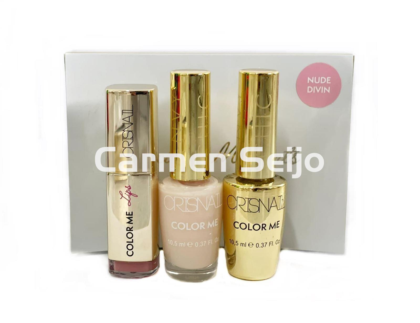 Crisnail Box Cofre Sublime Nude Divin Cristal French Color Me - Imagen 1