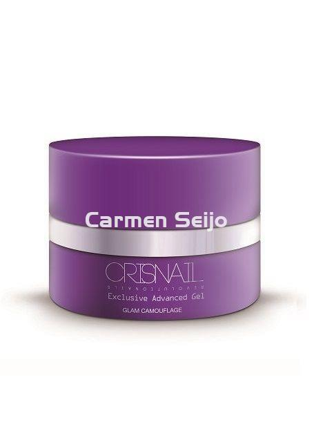 Crisnail Gel de Camuflaje Glam Camouflage Exclusive Advanced Gel - Imagen 1