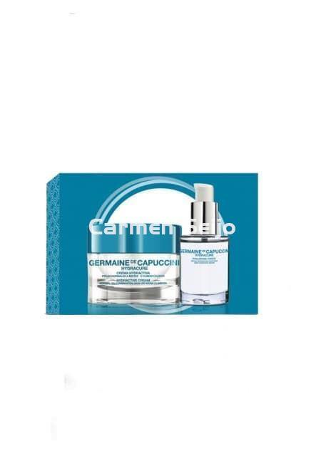 Germaine de Capuccini Pack Hydracure Normal/Mixta Crema Hydracure + Sérum Hyaluronic Force. - Imagen 1
