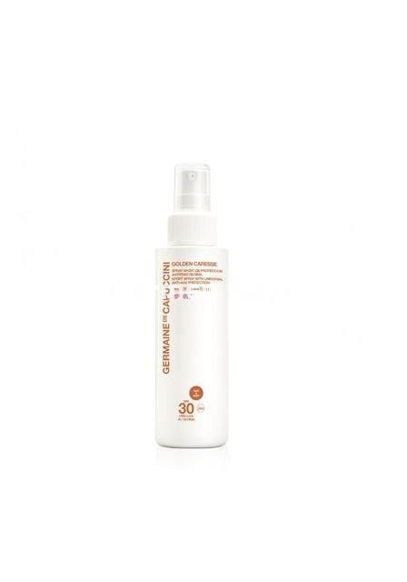 Germaine de Capuccini Spray Sport Antiedad Global SPF 30 Golden Caresse. - Imagen 1