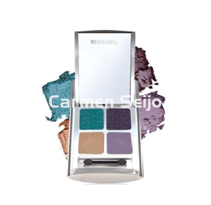 Keenwell Cuarteto Sombras de Ojos Arbah Shades nº 3 Beauty Collection. - Imagen 1