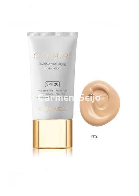 Keenwell Maquillaje Invisible Clonature Nº 2 - Imagen 1