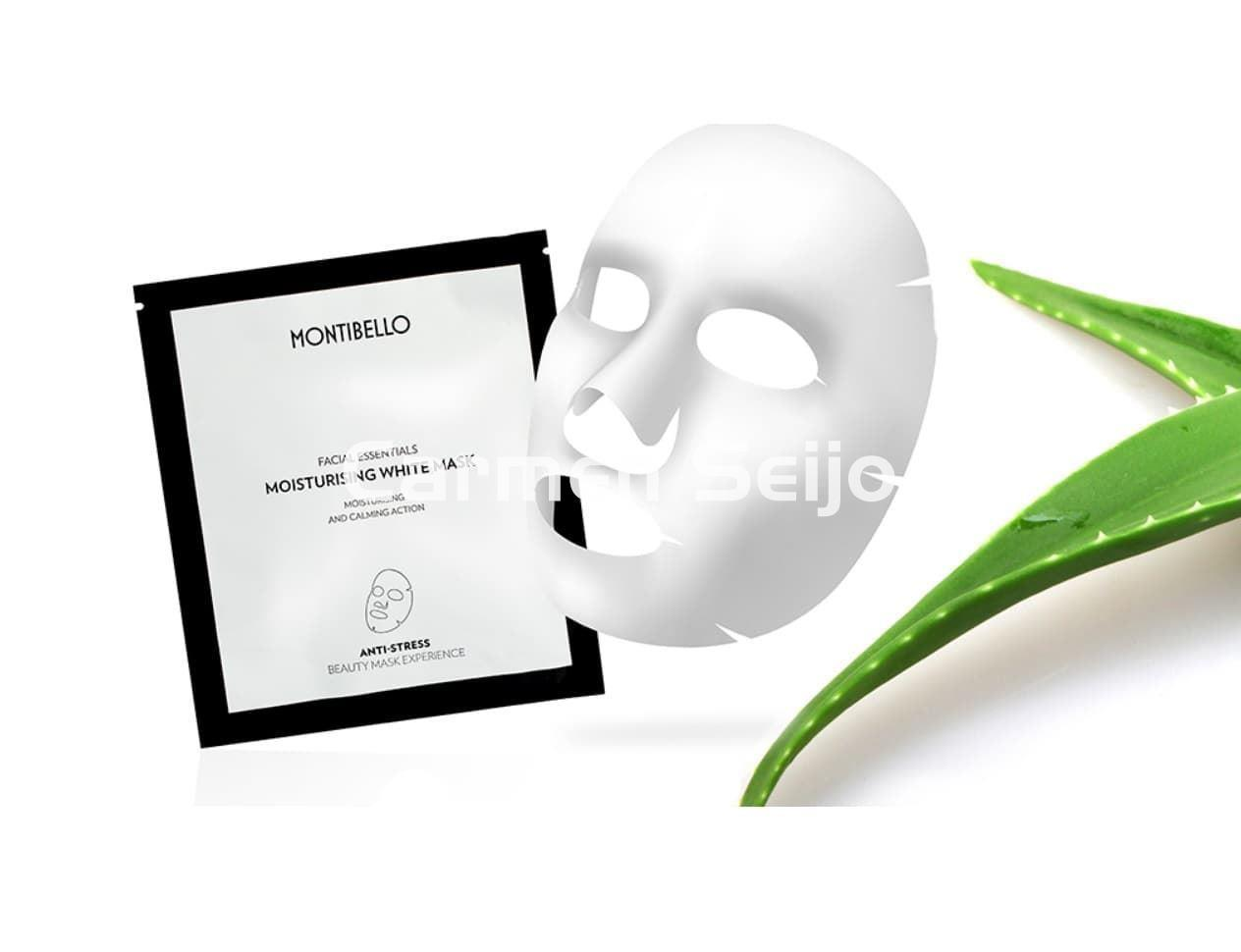 Montibello Mascarilla Moisturising White Mask Facial Essentials - Imagen 1