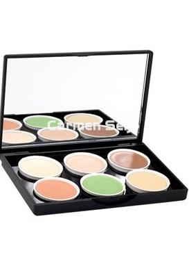 Stage Line Paleta Paint Stick 6 Colores Concealer Make Up Palette - Imagen 1